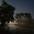 Warffumermaar in maanlicht