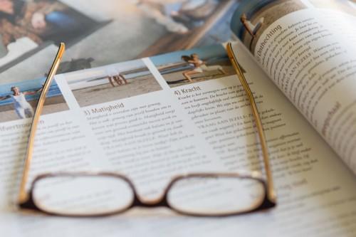 Vermelding van Patty Jongemaets Deugdenyoga in Yoga Magazine