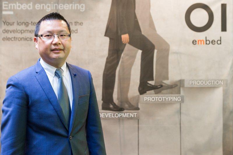 Portret voor visiemagazine