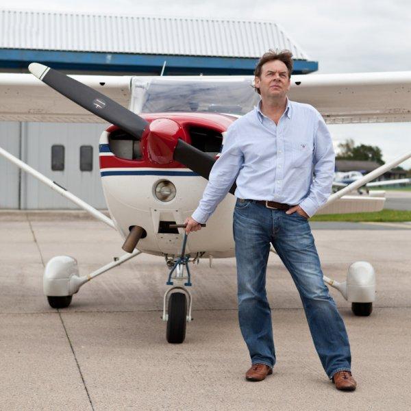 Jelte Homburg met Cessna