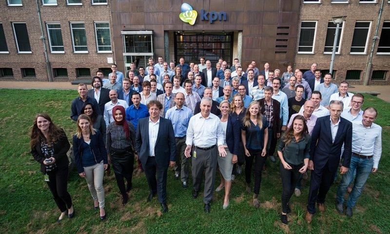 groepsfoto KPN Consulting